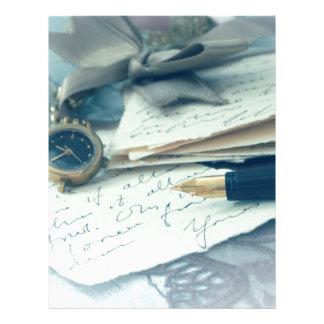 vintage arrangement, letterhead