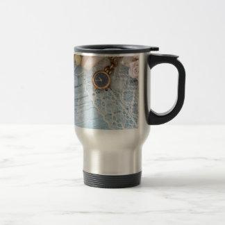 vintage arrangement, travel mug