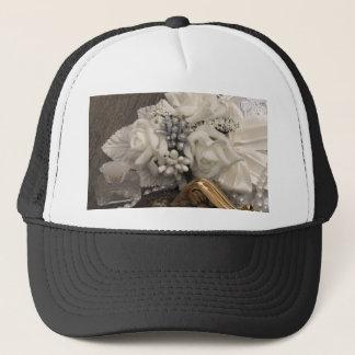 vintage arrangement trucker hat
