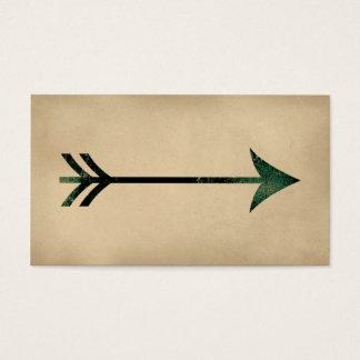Vintage Arrow Business Cards