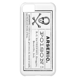 Vintage Arsenic Poison Label Case For iPhone 5C