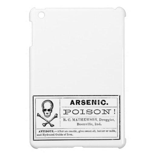 Vintage Arsenic Poison Label iPad Mini Cases