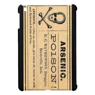 Vintage Arsenic Poison Label iPad Mini Cover