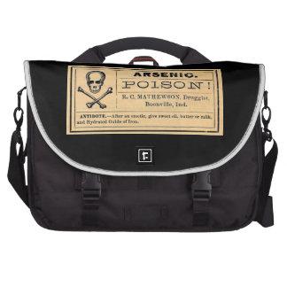 Vintage Arsenic Poison Label Commuter Bags