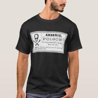 Vintage Arsenic Poison Label T-Shirt