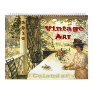 Vintage Art 2010 Calendar