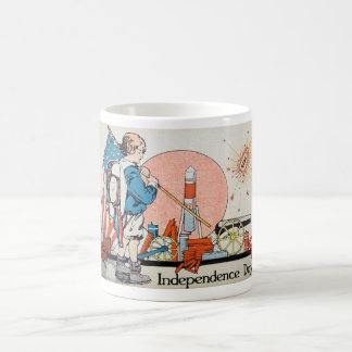 Vintage Art - 4th of July / Independence Day Coffee Mug