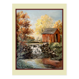 Vintage Art - B. Mitchell Postcard