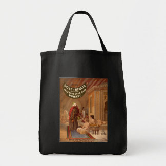 Vintage Art: Belle of Nelson Whiskey Tote Bags
