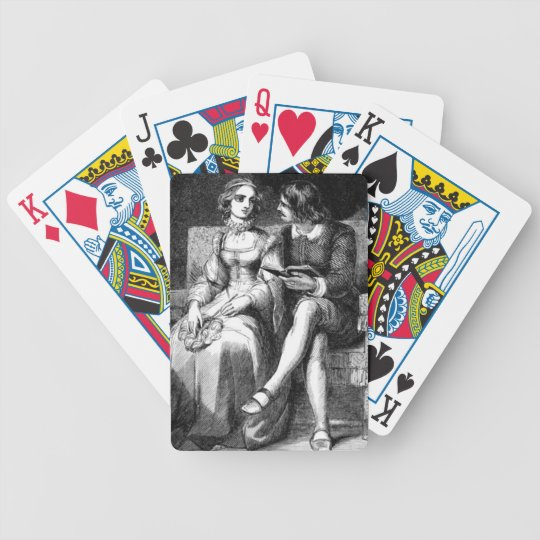 Vintage Art Bicycle Playing Cards