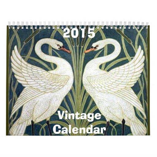 Vintage Calendar Art : Be back soon