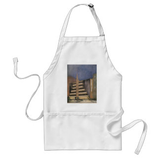 Vintage Art Deco Architecture, Building in NYC Adult Apron