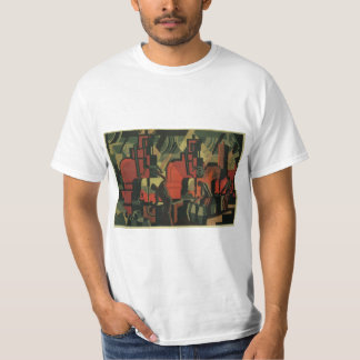 Vintage Art Deco Business Industrial Manufacturing T-Shirt