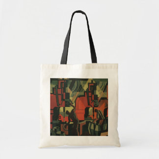Vintage Art Deco Business Industrial Manufacturing Tote Bag