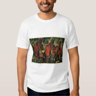 Vintage Art Deco Business, Manufacturing Workers T-shirt