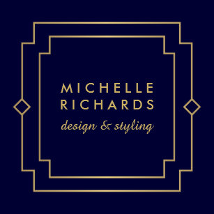 Art deco business cards templates zazzle vintage art deco elegant gold navy square business card reheart Gallery