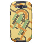 Vintage Art Deco Fine Art Bold Abstract Phone Case Galaxy SIII Cover