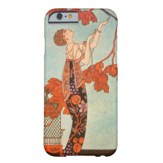 Vintage Art Deco, Flighty Bird by George Barbier Barely There iPhone 6 Case