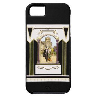 Vintage Art Deco Formal Fashionable Couple iPhone SE/5/5s Case