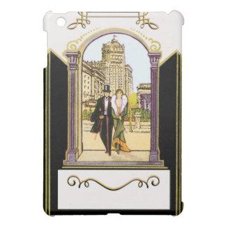 Vintage Art Deco Formal Wear Couple iPad Mini Cover