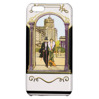 Vintage Art Deco Formal Wear Couple Retro iPhone 5C Cover
