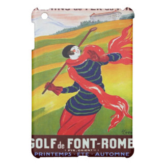 Vintage Art Deco French Golf Cover For The iPad Mini