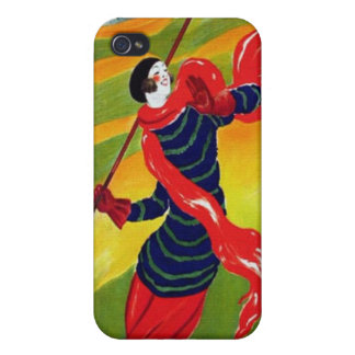 Vintage Art Deco French Golf Poster Adaptation iPhone 4 Case
