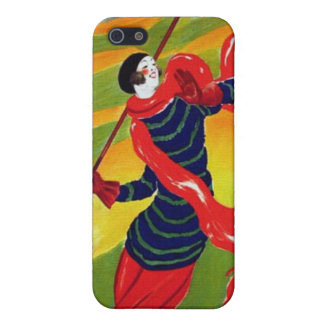 Vintage Art Deco French Golf Poster Cover For iPhone 5