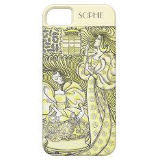 Vintage Art Deco Graceful Women Iphone 5/5s Case at Zazzle