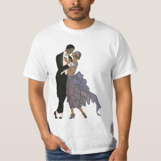 Vintage Art Deco, Newlyweds Love Wedding Dance T-Shirt