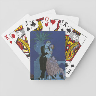 Vintage Art Deco Newlyweds, Oui by George Barbier Playing Cards