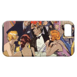 Vintage Art Deco Nightclub Cocktail Party iPhone 5 Cases