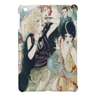 Vintage Art Deco Party Girls Mayhem and Mischief Cover For The iPad Mini