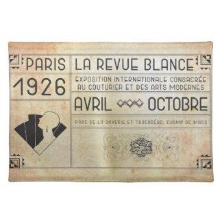 Vintage Art Deco Placemat