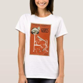 "Vintage Art Deco Poster Tee ""Girls"""
