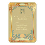 Vintage Art Deco RSVP ~ Gatsby Inspired Card