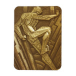 Vintage Art Deco Sculpture Magnets