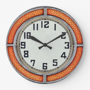 Art Deco Wall Clocks Zazzle