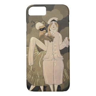 Vintage Art Deco, Surprise by George Barbier iPhone 7 Case