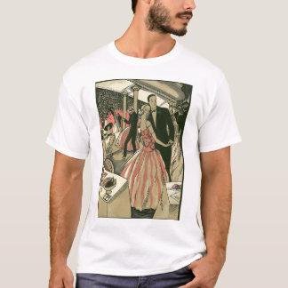 Vintage Art Deco Wedding, Newlyweds First Dance T-Shirt