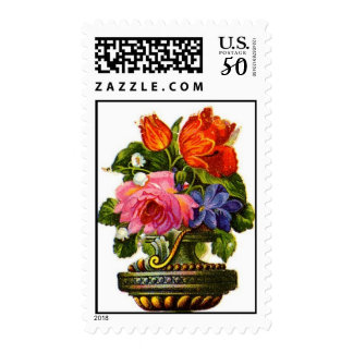 Vintage Art Decor Postage