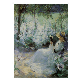 Vintage Art, Delicious Solitude by Frank Bramley Poster