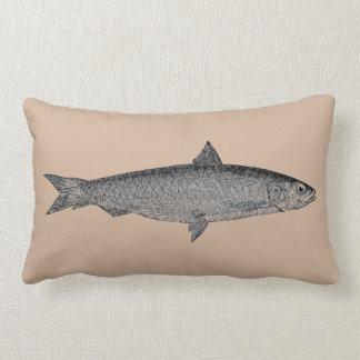 Vintage Art Fish Pillow