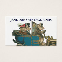 Vintage Art Funny Pigs Customizable 2-sided Business Card