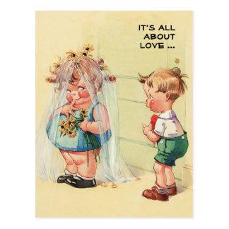 Vintage Art Funny Valentine's Day Postcards