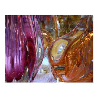 Vintage Art Glass Photography Postcard