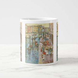 Vintage Art, Grand Canal, Venice by Prendergast 20 Oz Large Ceramic Coffee Mug