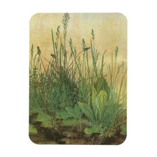 Vintage Art, Great Piece of Turf by Albrecht Durer Rectangular Photo Magnet