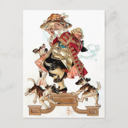 Vintage Art Humorous Thanksgiving Postcards