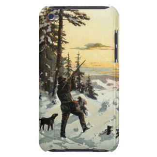 Vintage Art Hunting Dog Gun Apple iPod Touch Case